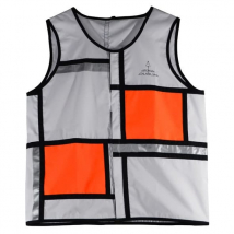 Reflective Vest Georgia in Dublin orange