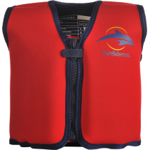 Children's Swim Jacket  - the Original Konfidence Red