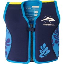 Children's Swim Jacket  - the Original Konfidence Blue