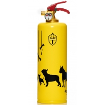 Design Safe-T Feuerlöscher - Dogs Yellow