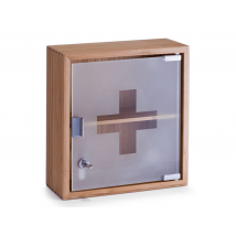 First aid cabinet - brown
