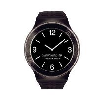 Smartwatcher Emergency Watch Sense Black