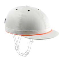 Yakkay bike helmet cover Cambridge White Denim