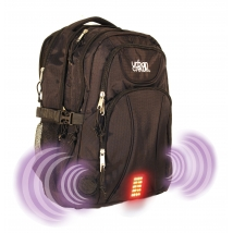isafe Urban Black Backpack with alarm
