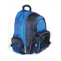 isafe backpack with alarm - blue