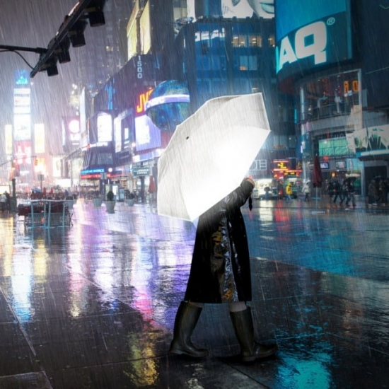 High reflective umbrella