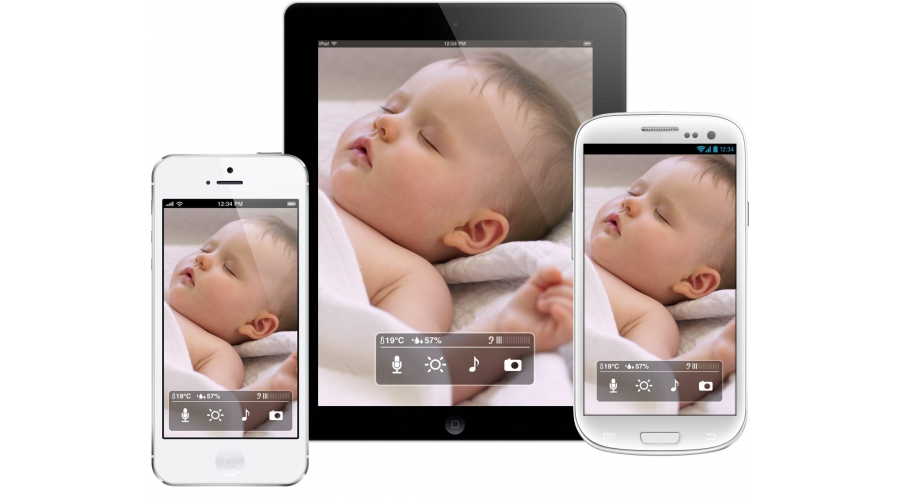 withings baby monitor f r iphone ipad ipod touch. Black Bedroom Furniture Sets. Home Design Ideas